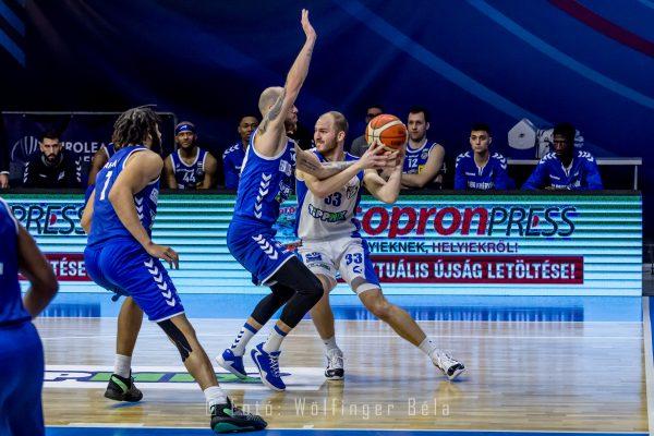 Tippmix Férfi NB I: Az Alba Sopronban is győzni tudott