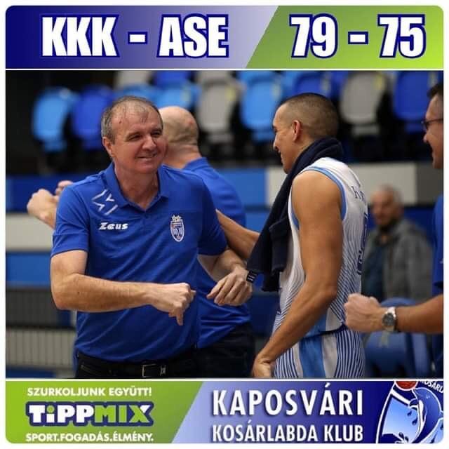 Tippmix Férfi NB I: Az ASE-t is legyőzte a Kaposvár