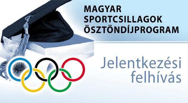 Újra lehet jelentkezni a Magyar Sportcsillagok Ösztöndíjprogramra