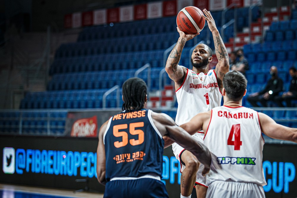 FIBA EC: Hiába a jó első negyed, második meccsét is elveszítette a Szolnok