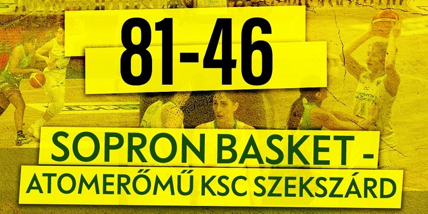Tippmix Női NB I: Kiütéses diadallal újra előnyben a Sopron