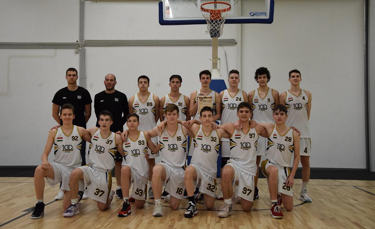 A PVSK Nemzeti Akadémia/A nyerte a fiú kadett B döntőt