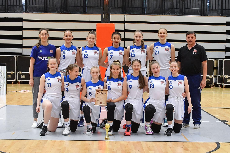 A Szegedi KE nyerte a leány serdülő B döntőt