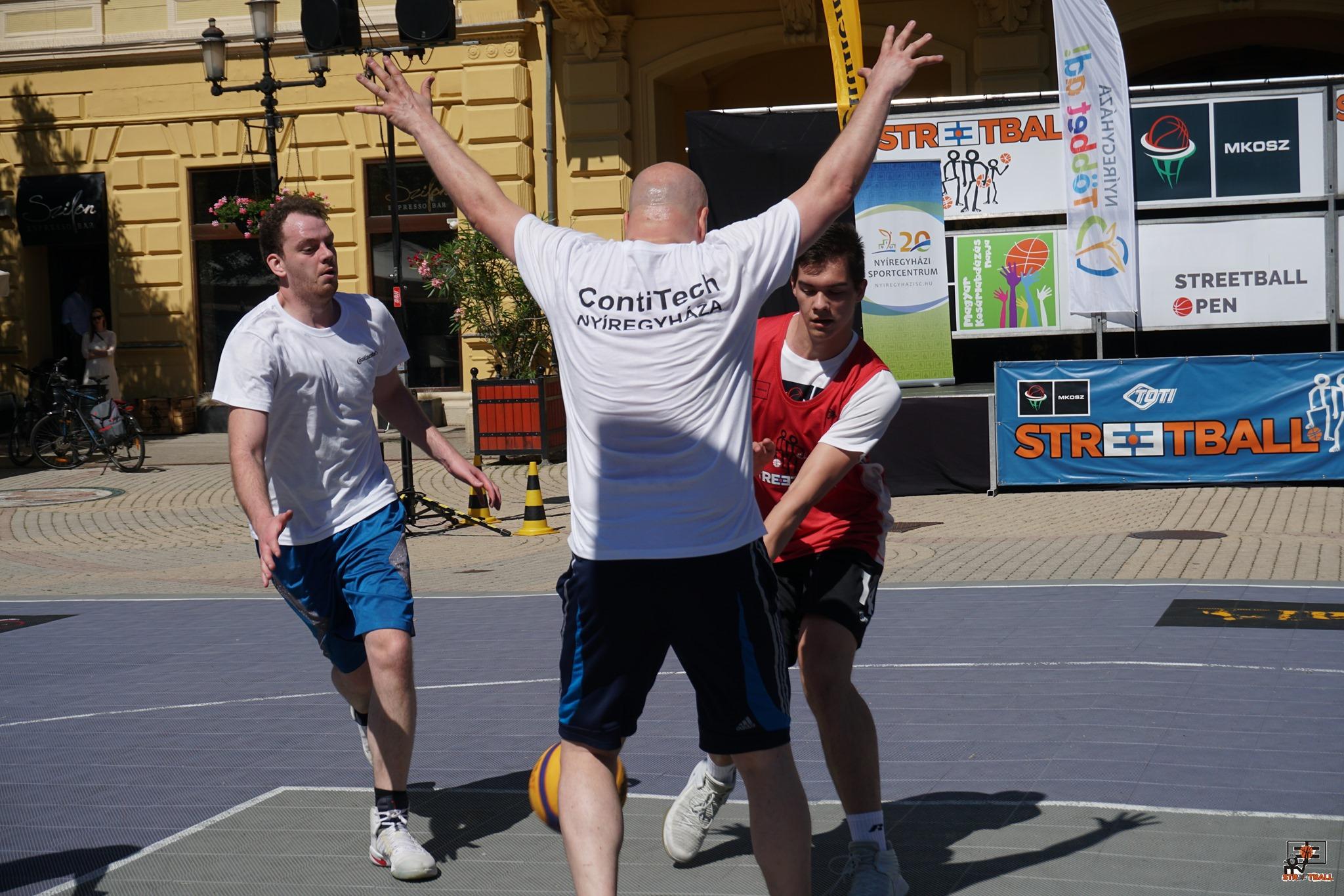 Streetball: Mák-os győzelem Nyíregyházán