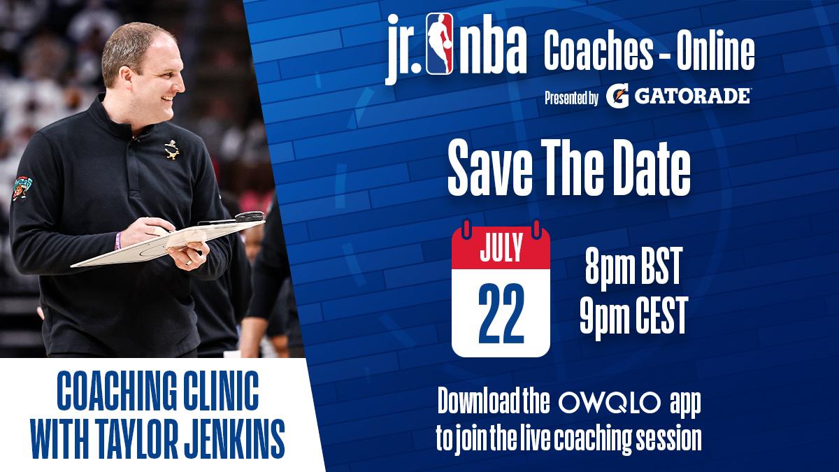 Online edzői kurzust tart Taylor Jenkins, a Memphis Grizzlies vezetőedzője