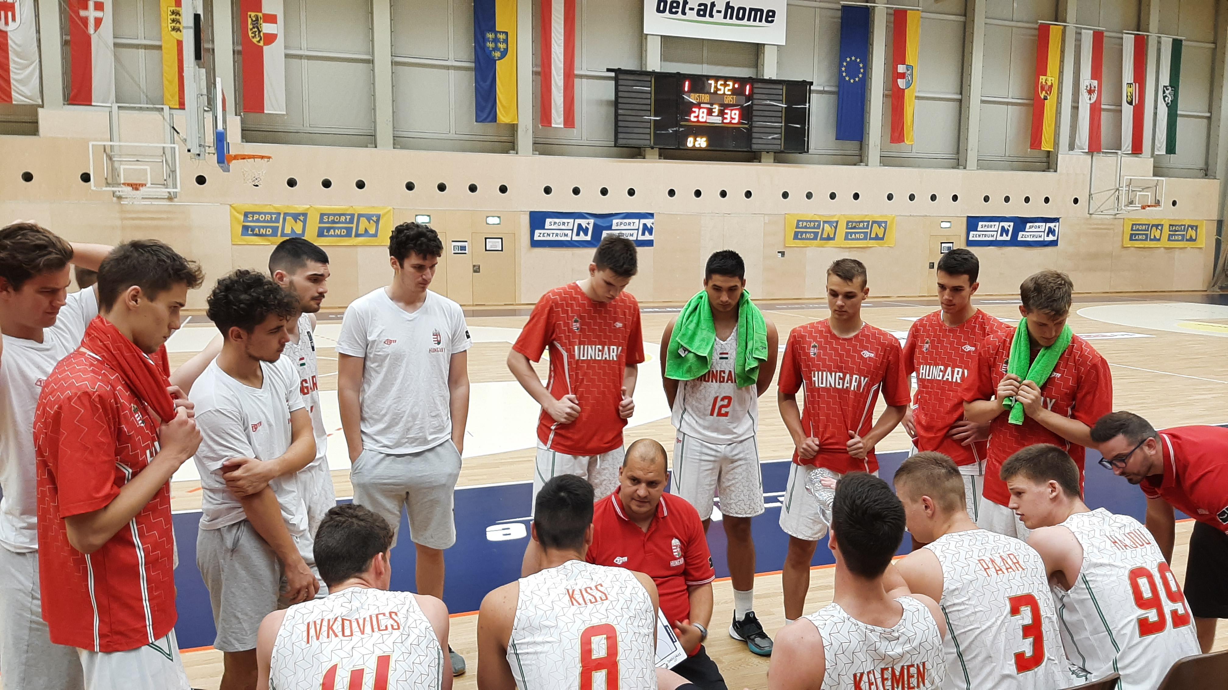 Az osztrákok U18-as csapata sem okozott gondot U18-as fiú válogatottunknak