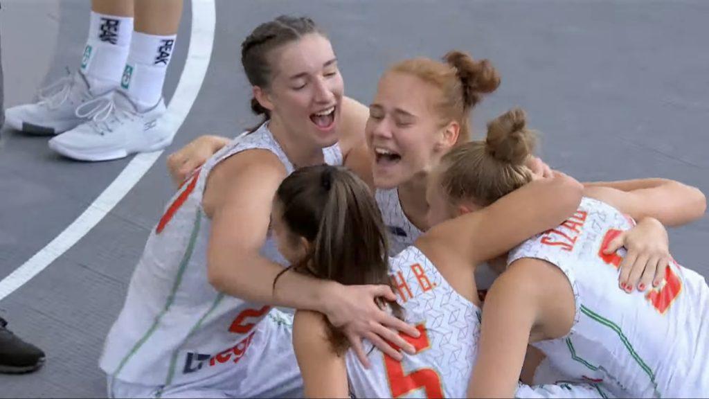 Bronzérmes női válogatottunk a 3x3-as U18-as világbajnokságon!