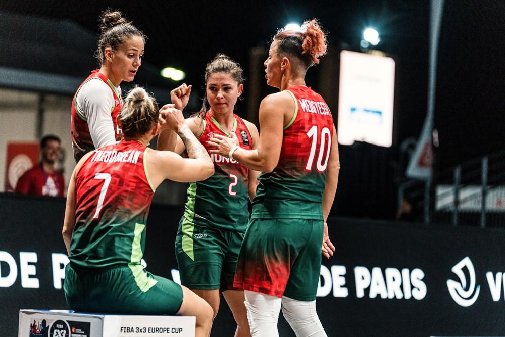 A negyeddöntő jelentette a végállomást női válogatottunknak a 3x3-as Eb-n