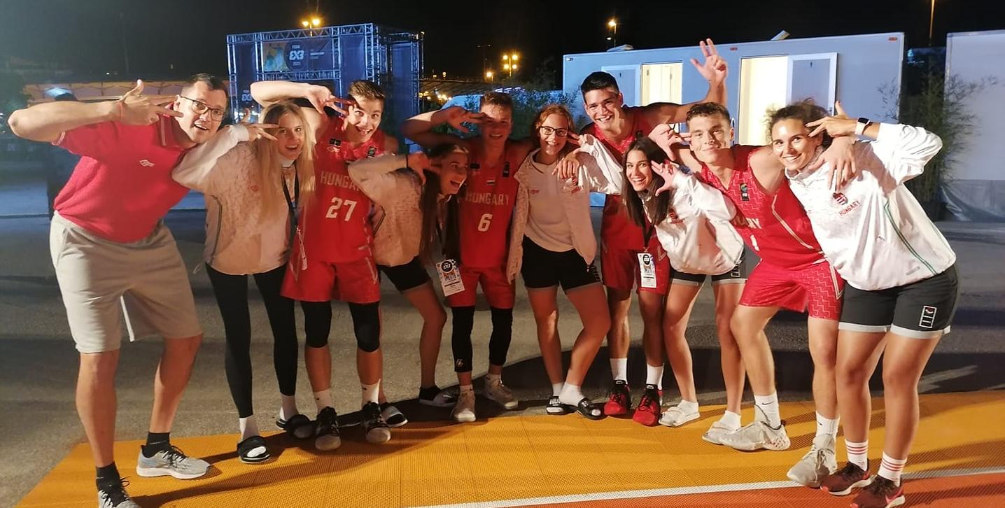 Bronzérmesek az U17-es fiúk a 3x3-as Európa-bajnokságon!