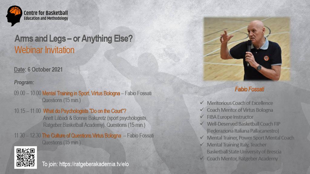 Angol nyelvű Webináriumot rendez a Kosárlabda Specifikus Módszertani Központ