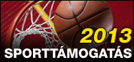 2013 Sporttámogatás