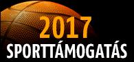 2017 Sporttámogatás