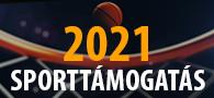 2021 Sporttámogatás